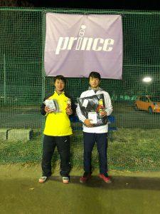 【結果】第5回桜田ウィンタージュニアテニストーナメント
